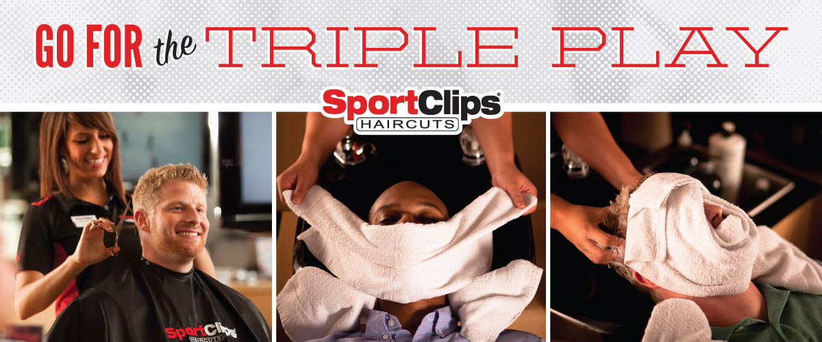 The Sport Clips Haircuts of Round Rock - University Oaks Triple Play